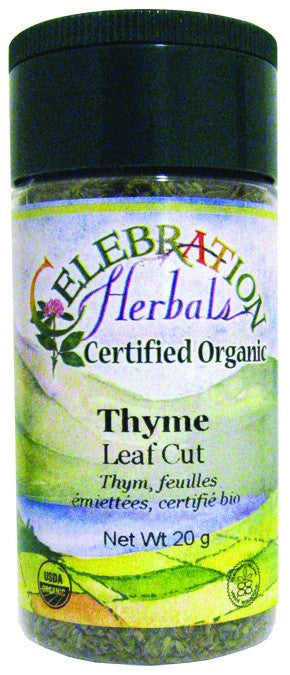 Dietary Supplement - Celebration Herbals Thyme Leaf C/s Organic 22 G