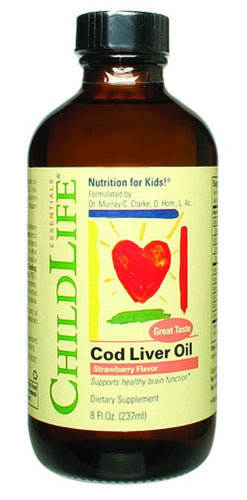 Dietary Supplement - ChildLife Cod Liver Oil 8 OZ