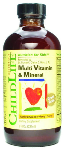 Dietary Supplement - ChildLife Multi Vitamin & Mineral 8 OZ