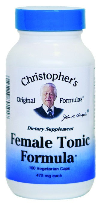 Dietary Supplement - Christopher's Original Female Tonic Formula 100 CAP