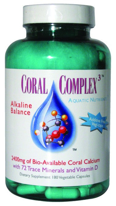 Dietary Supplement - Coral Complex 3 180 VGC
