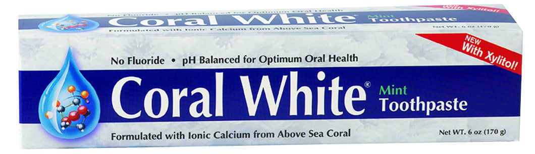 Dietary Supplement - Coral White Toothpaste Mint 6 OZ