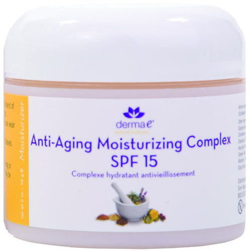 Dietary Supplement - Derma E Natural Age Defying Moisturizer SPF 15 2 OZ