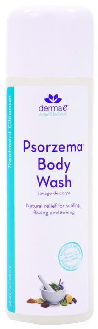 Dietary Supplement - Derma E Natural Psorzema Body Wash 8 OZ