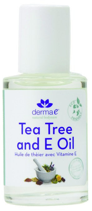 Dietary Supplement - Derma E Natural Tea Tree & E Oil 1 OZ