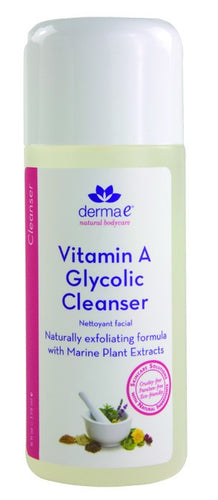Dietary Supplement - Derma E Natural Vitamin A Glycolic Cleanser 6 OZ