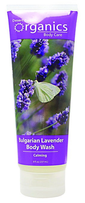 Dietary Supplement - Desert Essence Bulgarian Lavender Body Wash 8 OZ