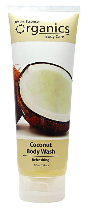 Dietary Supplement - Desert Essence Coconut Body Wash 8 OZ