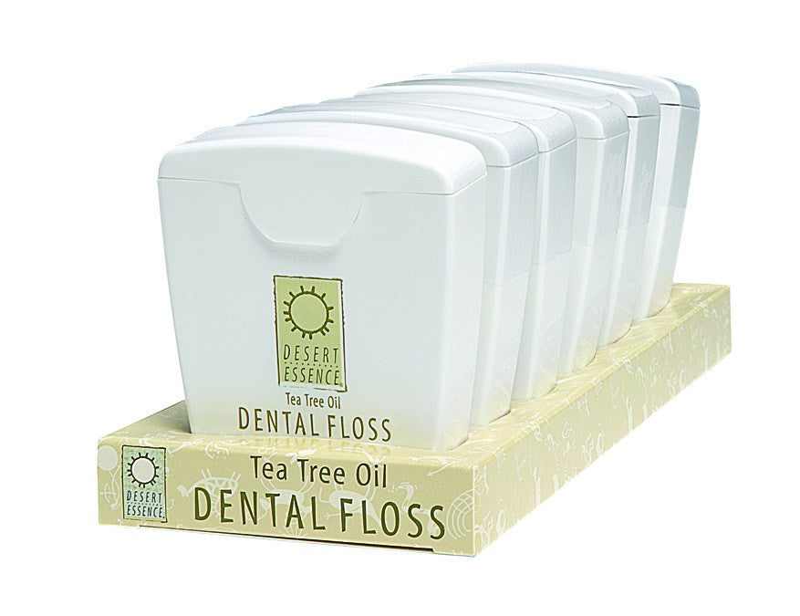 Dietary Supplement - Desert Essence Tea Tree Dental Floss Display 6 PC