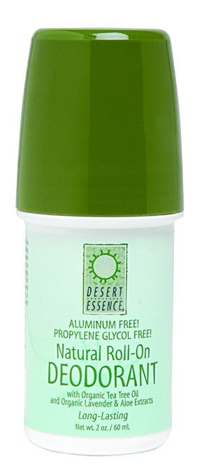 Desert Essence Tea Tree Oil Roll On Deodorant 2 Oz Friendo Health