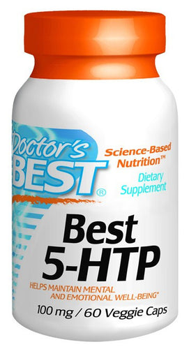 Dietary Supplement - Doctor's Best 5 HTP 100mg 60 VGC