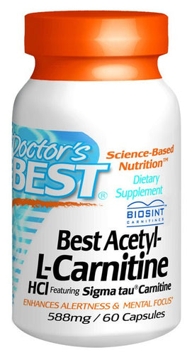 Dietary Supplement - Doctor's Best Acetyl L-Carnitine W/Sigma Tau 60 CAP