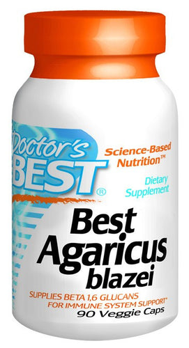 Dietary Supplement - Doctor's Best Agaricus Blazei 400mg 90 VGC