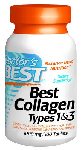 Dietary Supplement - Doctor's Best Collagen Types 1 & 3 180 TAB