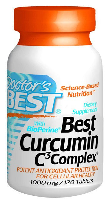 Dietary Supplement - Doctor's Best Curcumin C3 Complex 1000mg 120 TAB