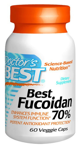 Dietary Supplement - Doctor's Best Fucoidan 70%% 60 VGC