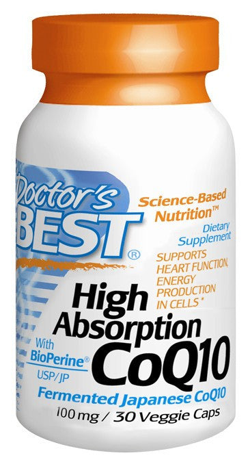 Dietary Supplement - Doctor's Best High Absorption CoQ10 30 VGC