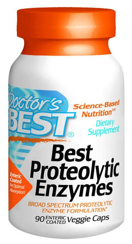 Dietary Supplement - Doctor's Best Proteolytic Enzymes 90 VGC