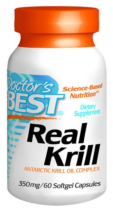 Dietary Supplement - Doctor's Best Real Krill 350mg 60 SFG