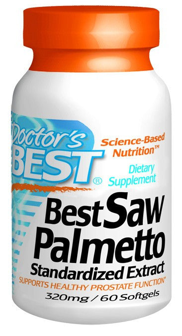 Dietary Supplement - Doctor's Best Saw Palmetto Extract 320mg 60 SFG