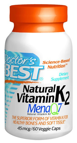 Dietary Supplement - Doctor's Best Vitamin K2 60 VGC
