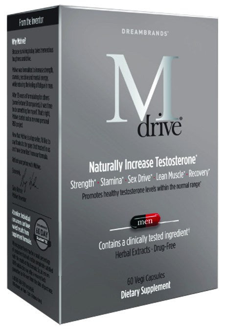 Dietary Supplement - Dreambrands M Drive Testosterone Support 60 CAP
