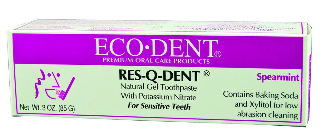 Dietary Supplement - Ecodent Res Q Dent Toothpaste 3 OZ