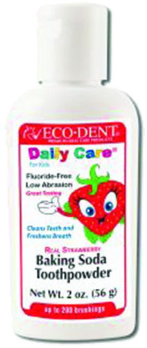 Dietary Supplement - Ecodent Strawberry Toothpowder Kids 2 OZ