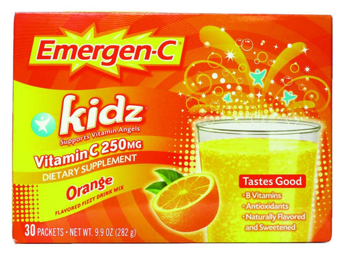 Dietary Supplement - Emergen C Kids Orange 30 PKT