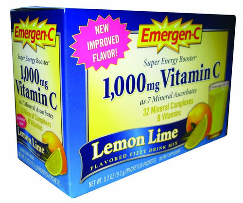 Dietary Supplement - Emergen C Lemon Lime 30 PKT