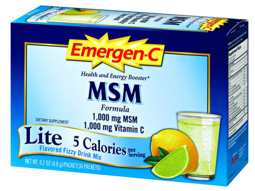 Dietary Supplement - Emergen C Lite MSM 30 PKT
