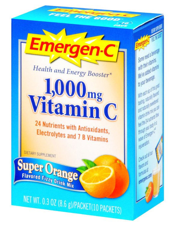 Dietary Supplement - Emergen C Orange 10 PKT