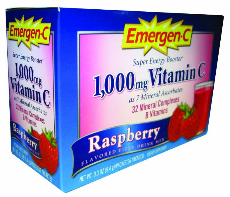 Dietary Supplement - Emergen C Raspberry 30 PKT