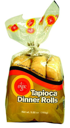 Dietary Supplement - Ener-G Foods Gluten-Free Tapioca Dinner Rolls 6/9 OZ