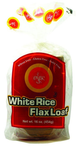 Dietary Supplement - Ener-G Foods Gluten-Free White Rice Flax Loaf 6/16 OZ