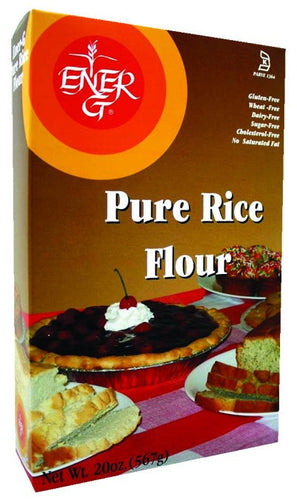 Dietary Supplement - Ener-G Foods Gluten-Free White Rice Flour 20 OZ