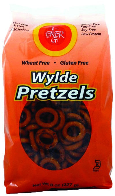 Dietary Supplement - Ener-G Foods Gluten-Free Wylde Pretzels 12/8 OZ
