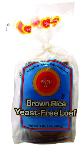 Dietary Supplement - Ener-G Foods Gluten-Free Yeast Free Brown Rice Loaf 6/19 OZ