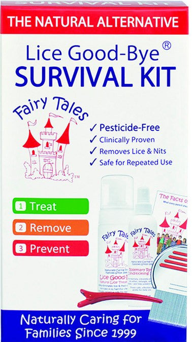 Dietary Supplement - Fairy Tales Lice Good-Bye Survival Kit 1 KIT