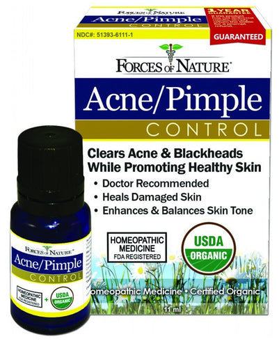 Dietary Supplement - Forces Of Nature Acne Pimple Control 11 ML