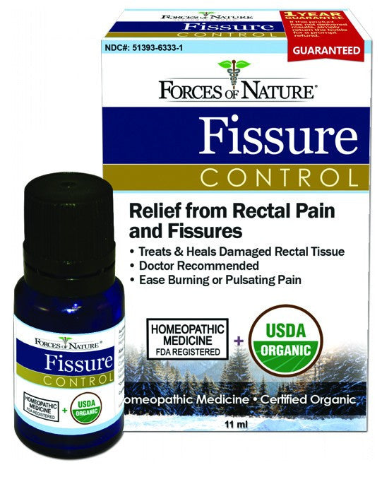 Dietary Supplement - Forces Of Nature Fissure Control 11 ML