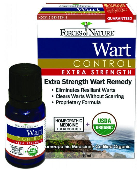 Dietary Supplement - Forces Of Nature Wart Control Extra Strength 11 ML