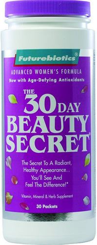 Dietary Supplement - Futurebiotics 30 Day Beauty Secret 30 PKS