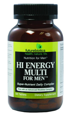 Dietary Supplement - Futurebiotics Hi Energy Multi For Men 120 TAB