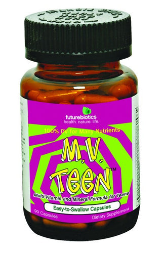 Dietary Supplement - Futurebiotics MVTeen Multi Vitamin For Teens 90 CAP