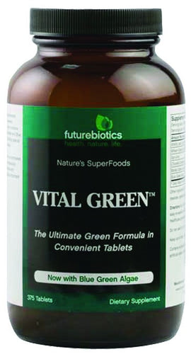 Dietary Supplement - Futurebiotics Vital Green (Enzyme Green Foods) 375 TAB