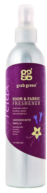 Dietary Supplement - Grab Green Lavender Room Fabric Freshener 7 OZ