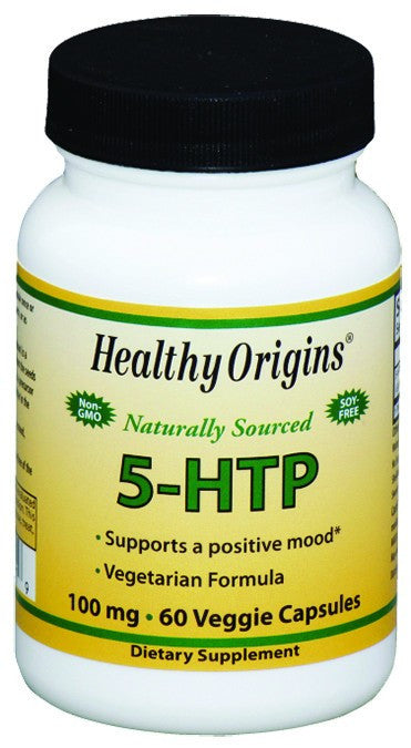 Dietary Supplement - Healthy Origins 5-HTP 100mg 60 CAP