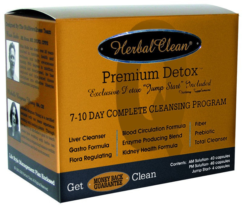 Dietary Supplement - Herbal Clean Premium Detox Program 3 PC