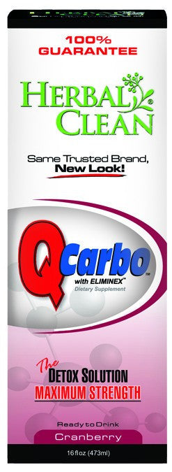 Dietary Supplement - Herbal Clean Q Carbo Cranberry 16 OZ